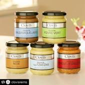 Les moutardes @clovisreims 👌🏼😋👍🏼 📸 #laurentrodriguez #foodinspiration #recette #clovisfrance #foodinstagram