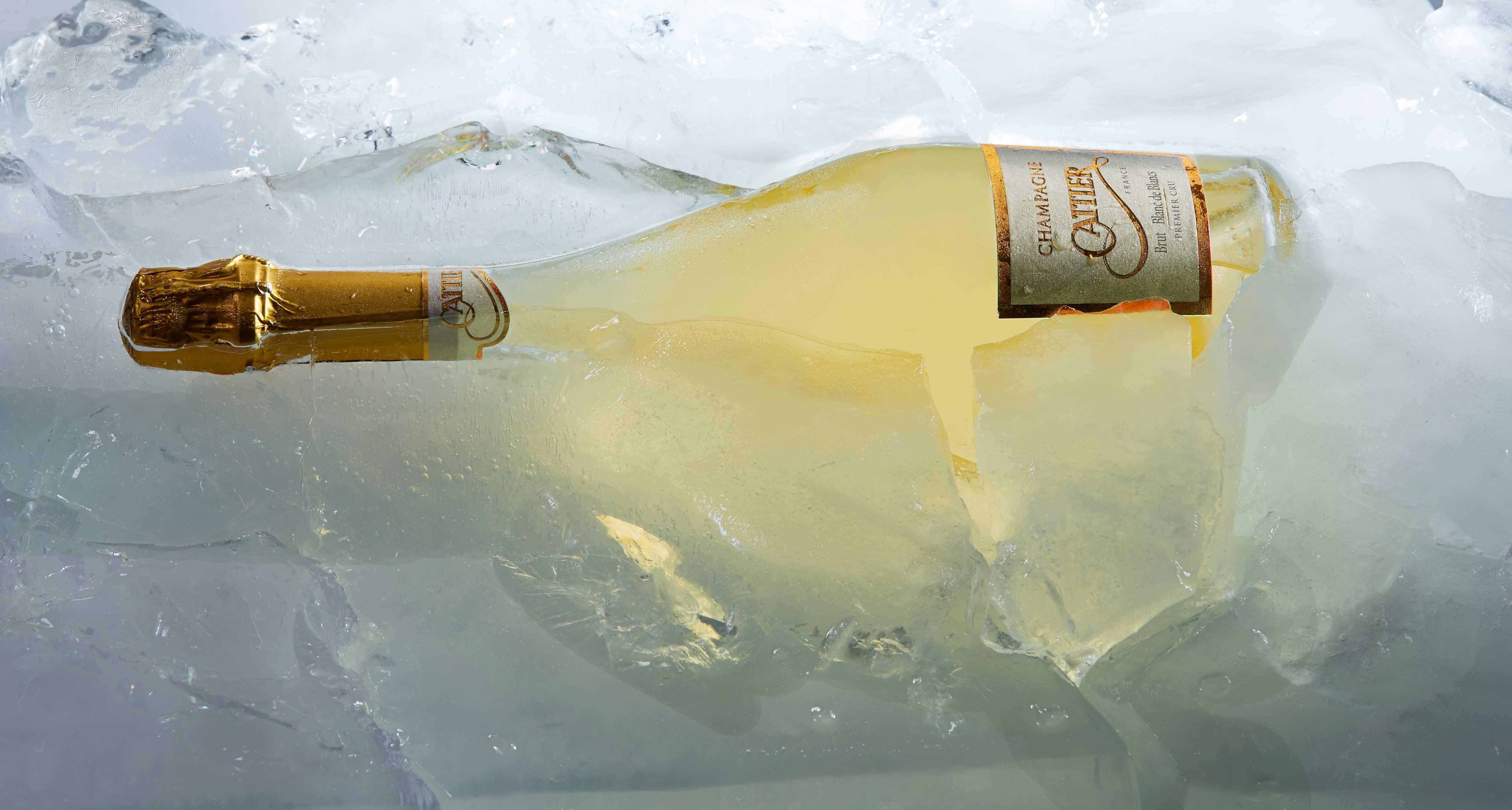 Prise de vue Champagne Cattier